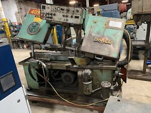 Doall C 1220a Powered Metal Horizontal Band Saw 3 Phase