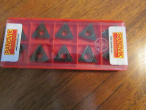 Sandvik Inserts Tpmt 16t3 08 pm 4325 Brand New In Unopen Case 10 Pcs See Picture