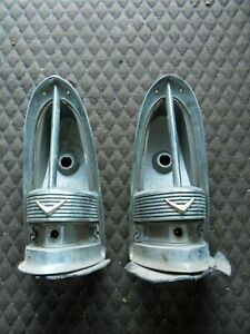 1955 Packard Tail Light Housings no Lenses Free Us Shipping