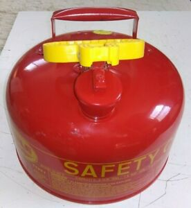 New Old Stock Eagle Safety Can Gasoline Gas Fuel Ui 20 S 2 U s Gallons Type 1