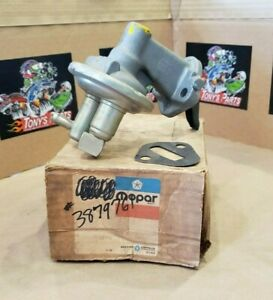 Nos Mopar Big Block Fuel Pump 3879761 383 400 440 Charger Road Runner Dodge