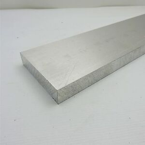 1 Thick 6061 Aluminum Plate 4 375 X 44 75 Long Solid Flat Stock Sku 122958