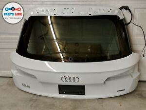 2018 2019 Audi Q5 Fy Rear Trunk Lid Lift Gate Tailgate Deck Hatch Door W Glass