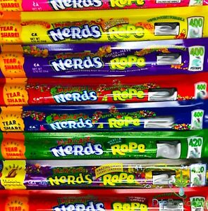 Medicated Nerds Rope empty Bags various Flavors Ships In 24 Hours Free