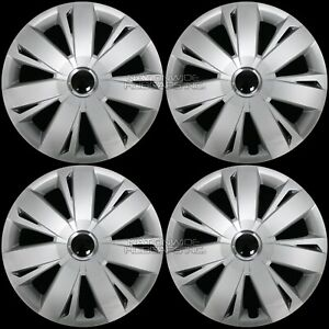 16 Set Of 4 Vw Jetta Beetle Wheel Covers Full Rim Hub Caps Fit R16 Steel Rims