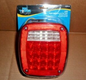 Universal Truck Led Combination Stop Reverse Tail Light Right Side Rh 222021r