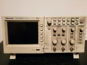 Tektronix Tds1001b Oscilloscope Great Condition Everything Works Properly