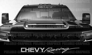 Chevy Racing Chevrolet Decal Sticker Graphic Window Windshield Car Truck Suv