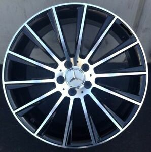 19 S63 Amg Style Wheels Rims Fits Mercedes Benz S Class S430 S500 S550 S400
