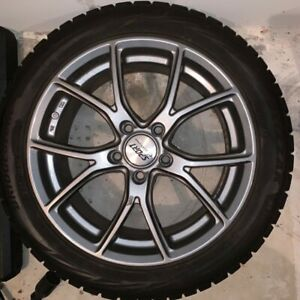 Subaru wrx 4 Wheels And Winter Tires 17 Great Condition