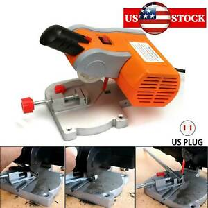 Mini Top Table Cut Off Miter Saw 90w For Precision Cut Metal Wood Frame Molding