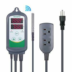 Digital Temperature Controller Thermostat Remote Monitoring Controlling Home