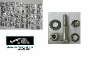 Stainless Steel Assortment Bolt Washer Nut Lock Nut Kit 1870 Pc With Bin