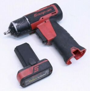Snap on Tools Ct625 7 2v 1 4 Cordless Impact Wrench W Ctb8172 Battery