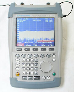 Rohde And Schwarz Fsh3 100khz 3ghz Spectrum Analyzer