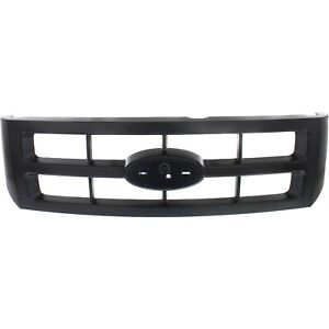 Grille For 2008 2012 Ford Escape Black Plastic