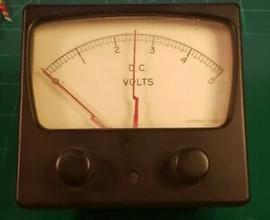 Assembly Prodcuts Inc 0 To 5 D c Analog Volt Meter W Hi Lo Settings c12b1