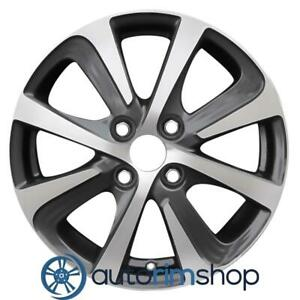 New 15 Replacement Rim For Toyota Prius 2018 2019 Wheel Machined With Charcoal