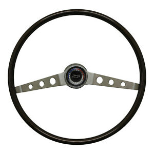 1965 Chevy Chevelle Impala Deluxe Wood Steering Wheel With Hub
