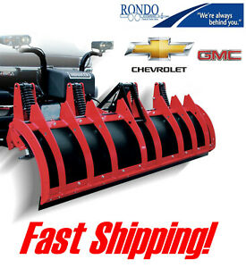 Chevy Gmc Back Drag Conventional Aut0matic 8 Hiniker C Snow Plow Push Pull