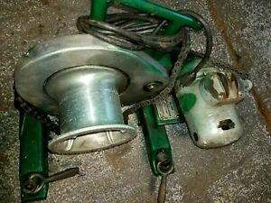 Greenlee 640 Puller Tugger And Adapter Package