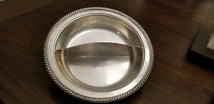 Antique Vintage Silver Serving Dish
