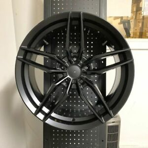 17 Voss Satin Black Rims Wheels Fits Acura Tl Tsx Rsx Type S