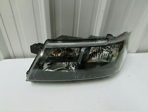 2014 2018 Dodge Journey Genuine Oem Left Drivers Black Bezel Headlight T1