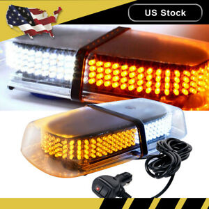 240 Led Emergency Warning Roof Top Strobe Snow Plow Light Flashing Am