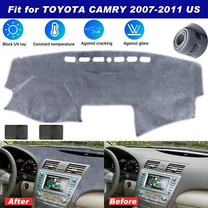 Us Car Dashmat Dash Mat For Toyota Camry 2007 2011 Dashboard Cover Pad Non slip