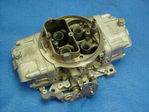 9381 Holley Double Pump Carb Carburetor 830 Cfm Annular Discharge Boosters Race