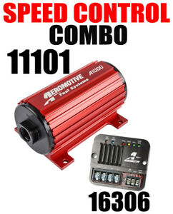 Aeromotive 11101 A1000 Electric Fuel Pump With Speed Controller 16306 In Stock