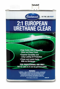 Eastwood 2 1 Urethane Super Durability Clear Coat System 1 Gallon