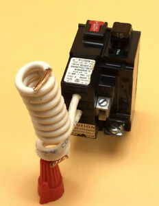 Circuit Breaker Pushmatic P115gf 15 Amp 1 Pole 120v Gfci