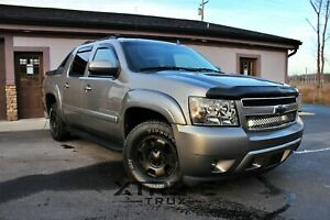 Paintable Black 07 13 Chevy Avalanche Oe Fender Flares Smooth Bolt On No Drill