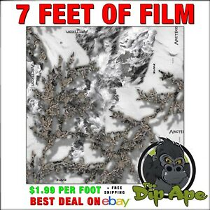 Hydrographic Film Camo Winter Snow Arctikon True Tree Real Concealment Timber 7