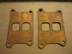 1933 Studebaker 8 Inlet To Exhaust Gaskets 2 Pcs Mccord Copper Asbestos