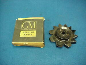 Nos Gm 55 56 57 58 59 60 61 62 Chevy Generator Fan Pulley 3710286
