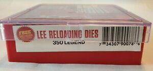 LEE Precision 90078 Pacesetter Die Set for 350 Legend *SHIPS PRIORITY INSURED*