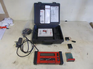 Snap On Mt2500 Scanner Full Kit With Cartridges Many Adapters Keys Books Case