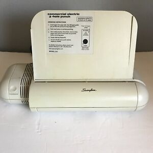 Swingline Three 3 Hole Punch Preowned