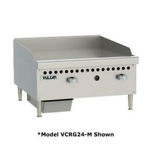 Vulcan Vcrg36 m 36 In Countertop Gas Griddle