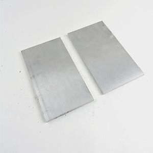 375 Thick 6061 Aluminum Plate 7 625 X 12 375 Long Qty 2 Stock Sku137063