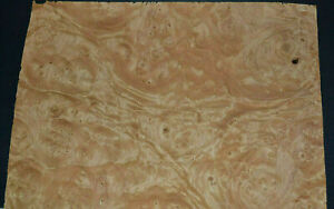 Chestnut Burl Raw Wood Veneer Sheets 10 X 15 Inches 1 42nd Thick E7318 39