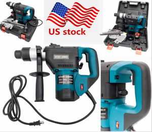 1 Electric Variable Speed Demolition Sds plus Rotary Hammer Drill W Case Us