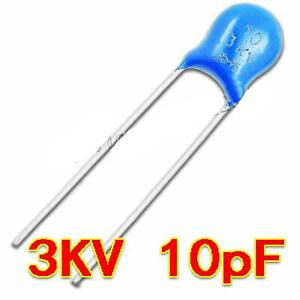 New 3kv 10j 3000v 10pf High Voltage Ceramic Capacitor