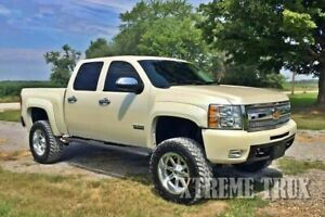 Paintable Black 07 13 Silverado 1500 Extended Fender Flares Short Bed 5 8 Smooth