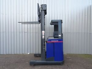 Nissan Uns16 Used Reach Forklift Truck 2308