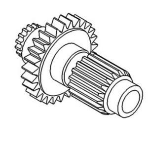C9nn7113b New Ford New Holland Countershaft Secondary Gear 5000 5600 5610