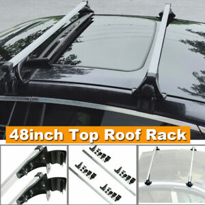 For Ford F150 F250 48 Car Top Roof Rack Bar For Snowboard Kayak Canoe Cargo Us
